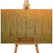 Big Box Art Red Park Bench by Georges-Pierre Seurat Art Print on Canvas