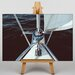 Big Box Art Sail Boat Photographic Print on Canvas