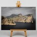 Big Box Art Landscape by the Sea Photographic Print on Canvas