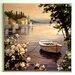 ERGO-PAUL Water's Edge Painting Print