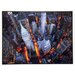 ERGO-PAUL Aerial View of Wall Street Painting Print