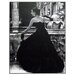 ERGO-PAUL Black Evening Dress, Roma 1952 Framed Painting Print