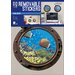 Imagicom Porthole Sub Fishes Wall Sticker