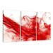 Urban Designs Smoke 3 Piece Graphic Art Wrapped on Canvas Set
