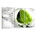 Urban Designs Lime Lemon 3 Piece Photographic Print Wrapped on Canvas Set