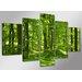 Urban Designs Forest 5 Piece Photographic Print on Canvas Set