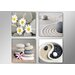 Urban Designs Spa Stones 4 Piece Photographic Print Wrapped on Canvas Set