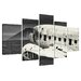 Urban Designs Airplane Wreck 5 Piece Photographic Print Wrapped on Canvas Set