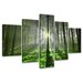 Alpen Home Guadalupe Ridge Forest 5 Piece Photographic Print on Canvas Set