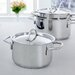 BK Cookware Profiline 4 Piece Stainless Steel Cookware Set