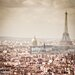 GettyImagesGallery Paris Skyline by MundusImages Photographic Print