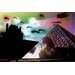 Fluorescent Palace Electric Louvre Night Graphic Art on Canvas