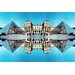 Fluorescent Palace Divine Reflections One Photographic Print on Canvas