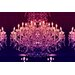 Fluorescent Palace Flash Charisma Graphic Art on Canvas