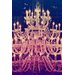 Fluorescent Palace Tower of Light Graphic Art on Canvas