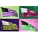 Fluorescent Palace Pop America Graphic Art on on Canvas