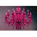 Fluorescent Palace Paparazzi Playhouse Graphic Art on Canvas in Pink