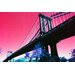 Fluorescent Palace Freeway Graphic Art on Canvas