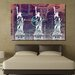 Fluorescent Palace Boomstar Subway Reverse Graphic Art on Canvas