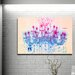 Fluorescent Palace Liquid Chandelier Graphic Art on Canvas in Cream