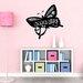 Walplus Blackboard Butterfly Shaped Wall Sticker