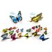 Walplus 3D Shining Colourful Butterflies for Nursery Room Wall Sticker