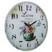 Obique 34cm Sweet Love Wall Clock