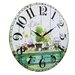 Obique 34cm Love, Sweets and Flowers Wall Clock