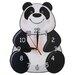 Obique Panda Wall Clock