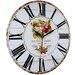 Obique 34cm Beautiful Garden Wall Clock