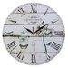 Obique 34cm Jardin Botanique Wall Clock