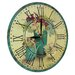 Obique 28cm Flowers and Watering Can Wall Clock