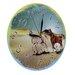 Obique 28cm Wild Horses in Desert Wall Clock