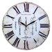 Obique 34cm Cutlery Wall Clock