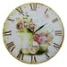 Obique Pink Rose 34cm Wall Clock