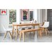 OutAndOutOriginal Sebastian Dining Table and 5 Chairs and Bench