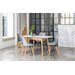 OutAndOutOriginal Dean Extendable Dining Table and 4 Chairs
