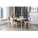 OutAndOutOriginal Dover Extendable Dining Table and 4 Chairs