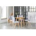 OutAndOutOriginal Dover Dining Table and 4 Chairs