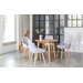OutAndOutOriginal Victor Dining Table and 4 Chairs