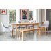 OutAndOutOriginal Victor Dining Table and 5 Chairs and Bench