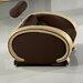 SAM Stil Art Möbel GmbH Designsessel Via mit verstellbarer Kopfstütze