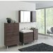 Held Möbel Marinello 70 cm x 69 cm Surface Mount Flat Mirror Cabinet