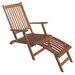 Garden Pleasure Montego Deck Chair with Footrest