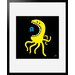 Atelier Contemporain Little Octopus by Aksel Framed Graphic Art