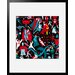Atelier Contemporain Flying Hereos by Aksel Framed Graphic Art