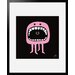 Atelier Contemporain Pink Mouth by Aksel Framed Graphic Art