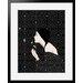 Atelier Contemporain Dandelion by Bahar Framed Graphic Art
