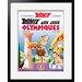Atelier Contemporain Couverture Asterix Aux Jo by Uderzo Framed Vintage Advertisement