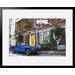 Atelier Contemporain Umbrella by Philippe Matine Framed Graphic Art
